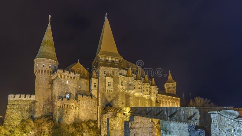 Château de Corvin images libres de droits