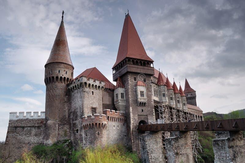 Château de Corvinilor photos stock