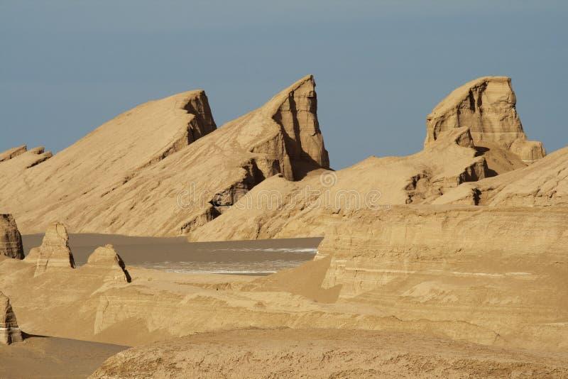 Château de désert images libres de droits