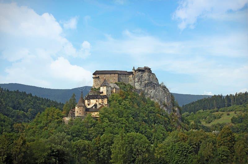 Château de ½ d'Oravskà image libre de droits