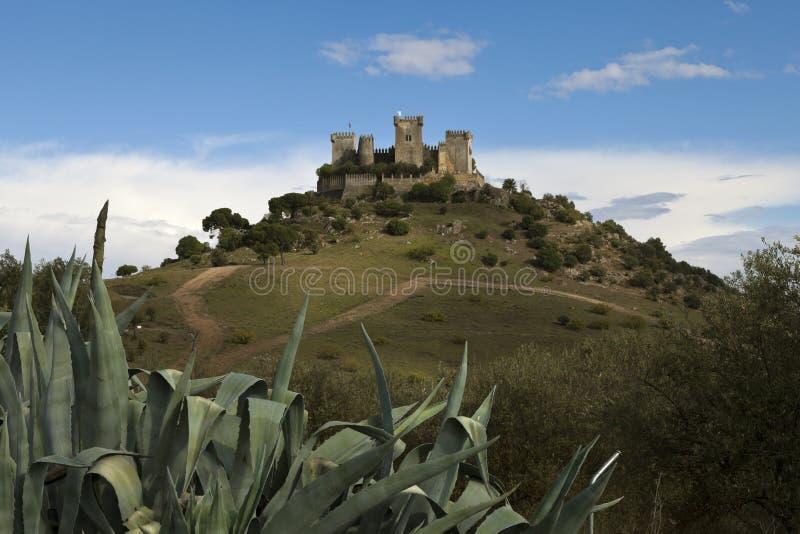Château de del Rio d'Almodovar photos libres de droits