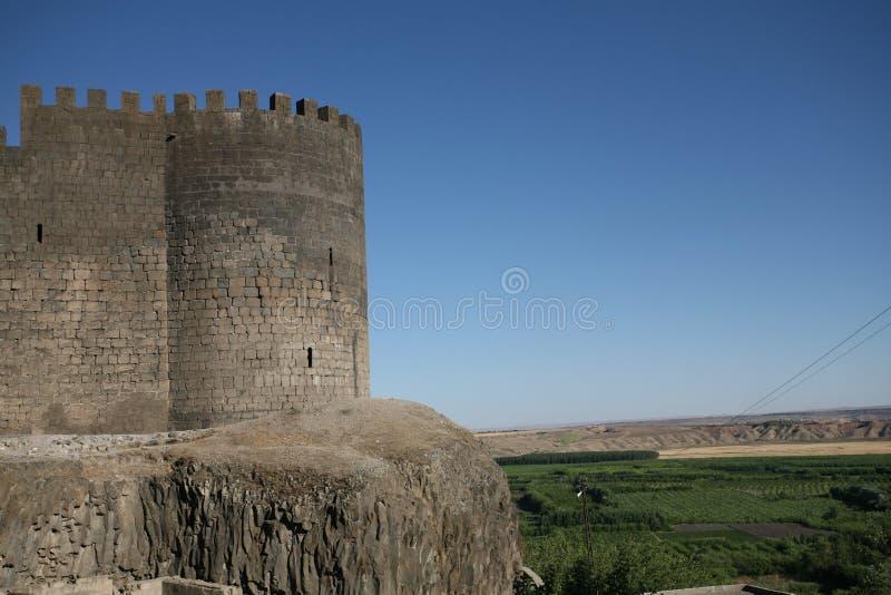 Château de Diyarbakir images libres de droits