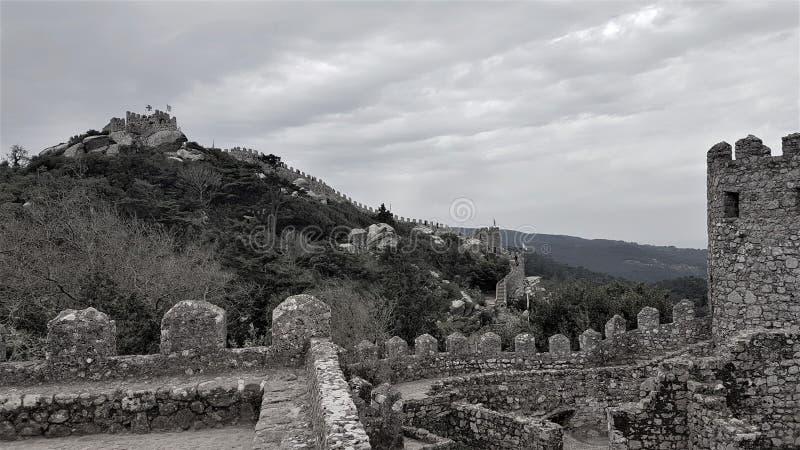 Château de Dos Mouros images libres de droits