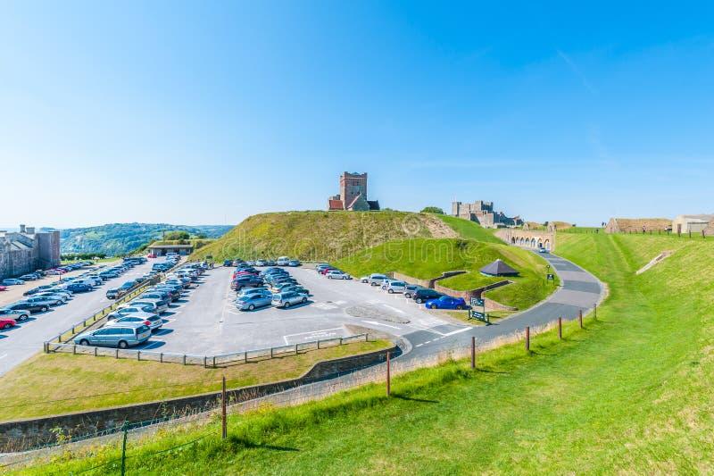 Château de Douvres images libres de droits