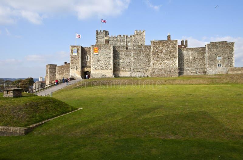Château de Douvres dans Kent photos stock