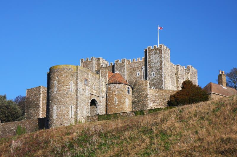 Château de Douvres en Angleterre photographie stock libre de droits