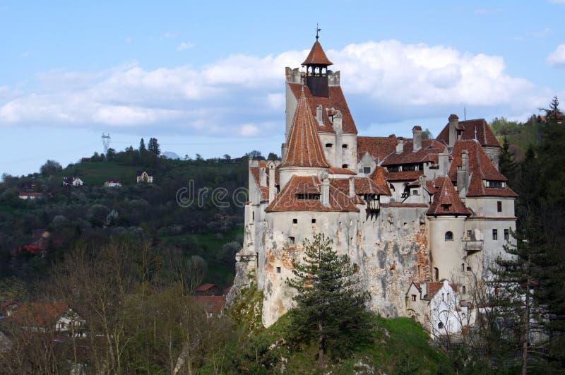 Château de Dracula - château de son, Roumanie photos stock