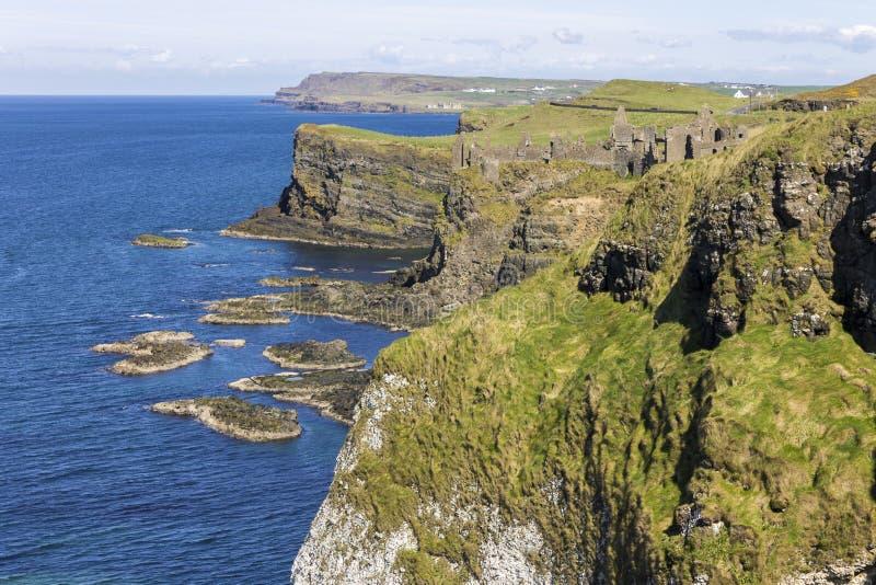 Château de Dunluce, Irlande du Nord image libre de droits