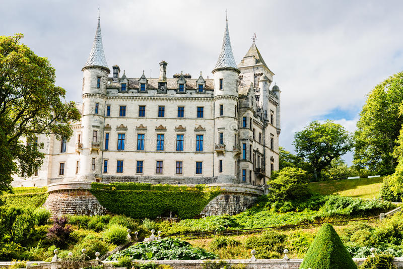 Château de Dunrobin, Ecosse photo libre de droits