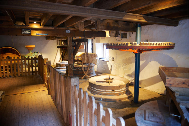 Château de Dunster, confiance nationale, Somerset, R-U image stock