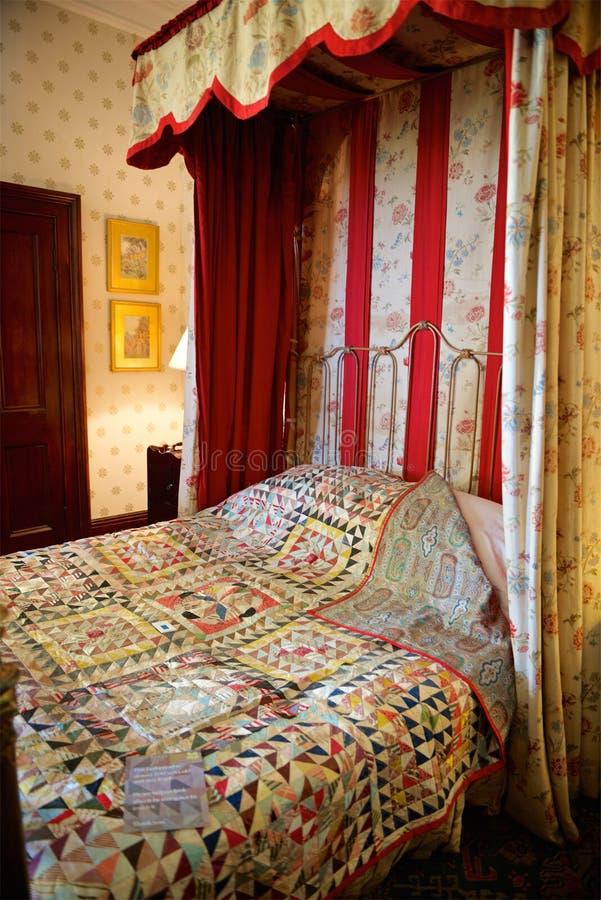 Château de Dunster, confiance nationale, Somerset, R-U photographie stock