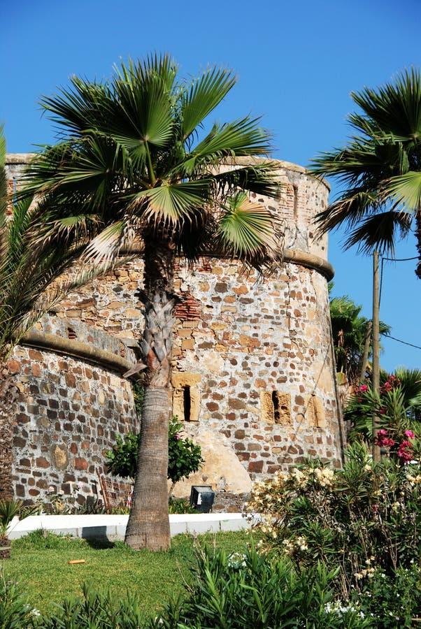 Château de Duquesa, Espagne photographie stock libre de droits
