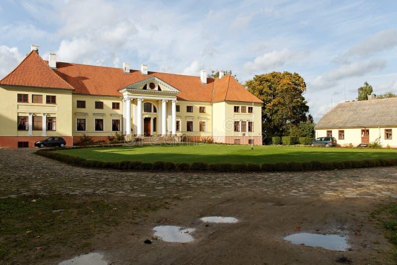 Château de Durbe. image stock