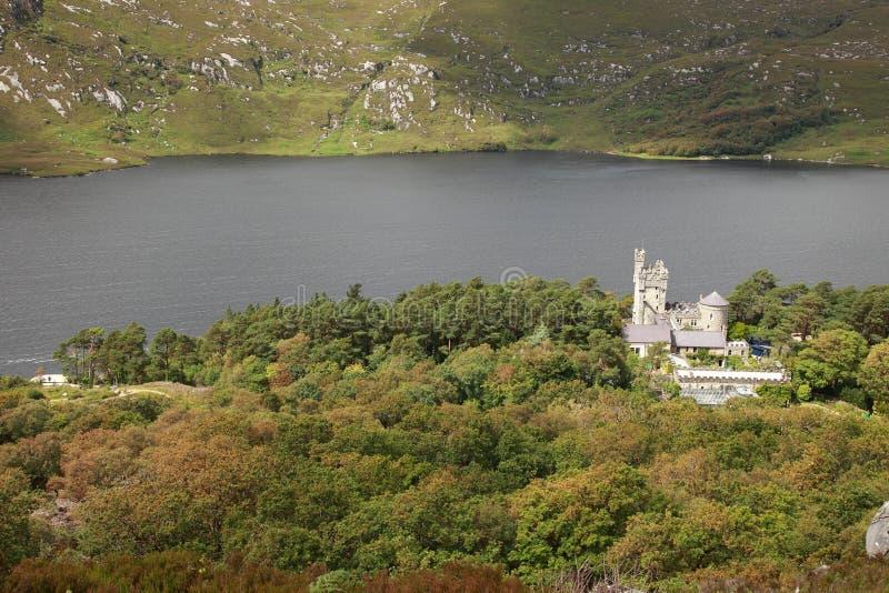 Château de Glenveagh. photographie stock libre de droits