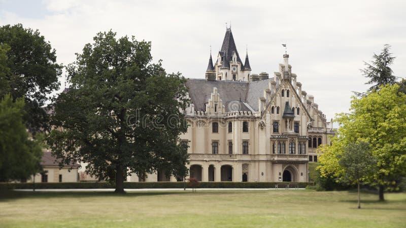 Château de Grafenegg dans le secteur de Krems-terre de la Basse Autriche image stock
