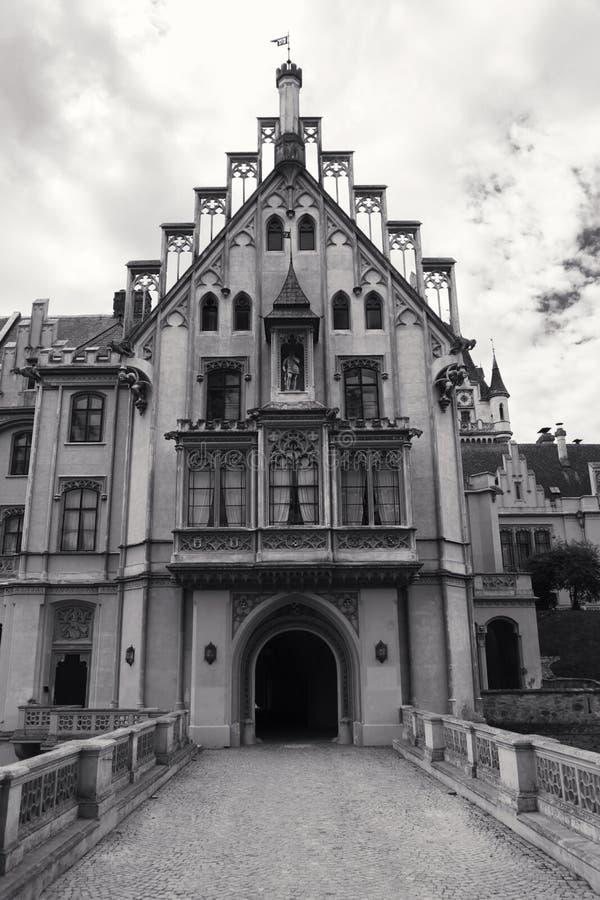 Château de Grafenegg dans le secteur de terre de Krems de la Basse Autriche photo libre de droits
