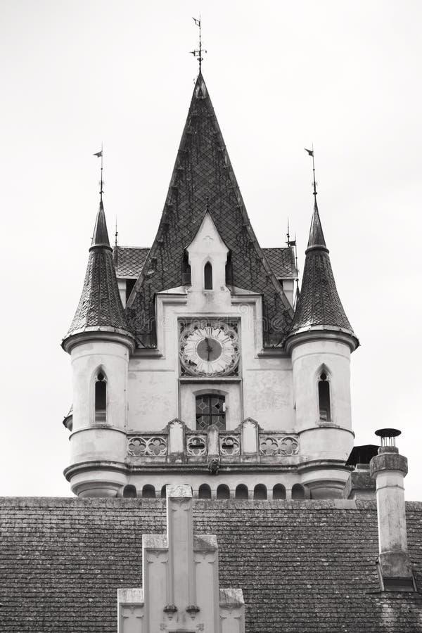 Château de Grafenegg dans le secteur de terre de Krems de la Basse Autriche photos stock
