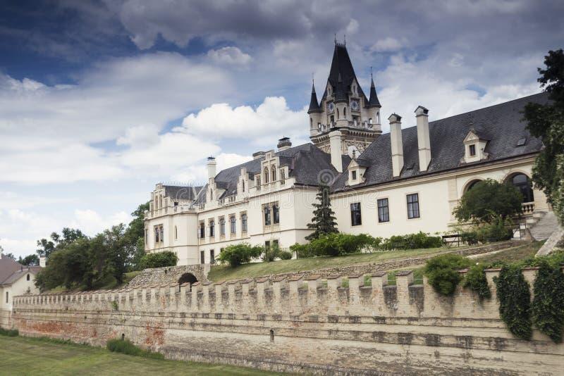 Château de Grafenegg dans le secteur de terre de Krems de la Basse Autriche photos libres de droits