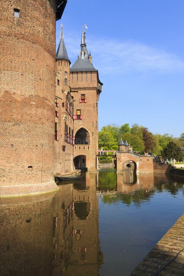 Château de haar image libre de droits