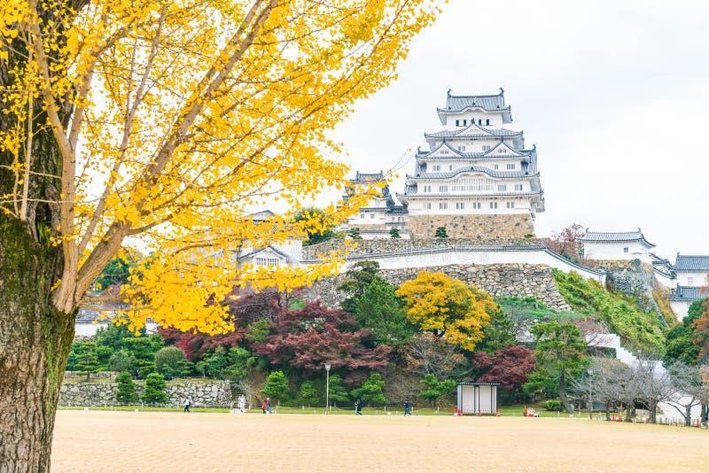 Château de Himeji en préfecture de Hyogo, Japon, patrimoine mondial de l'UNESCO images stock