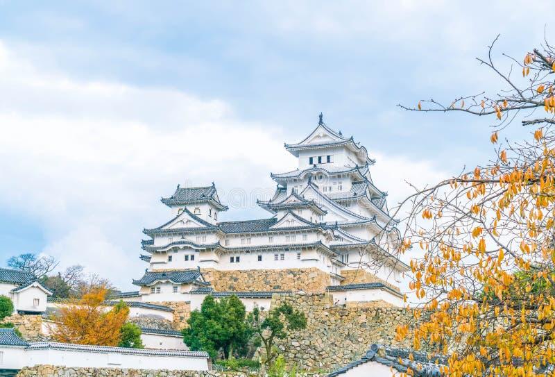 Château de Himeji en préfecture de Hyogo, Japon, patrimoine mondial de l'UNESCO photos stock