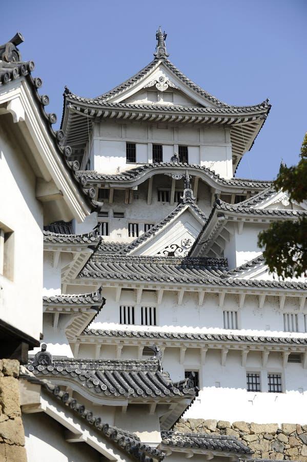 Château de Himeji, Japon images stock