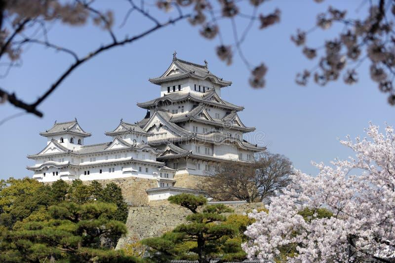 Château de Himeji, Japon photos libres de droits
