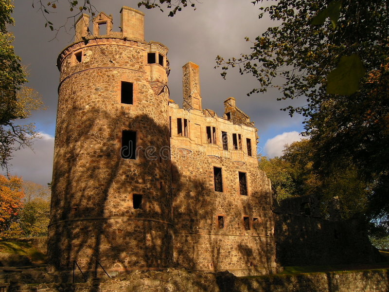 Château de Huntly images stock