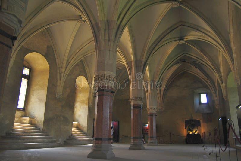 Château de Hunyadi images libres de droits