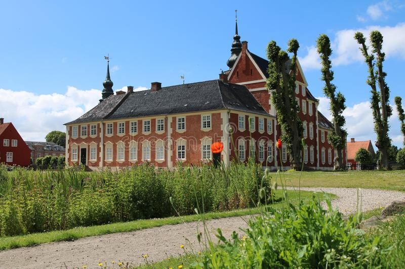 Château de Jægerspris, Jægerspris, Danemark photo stock
