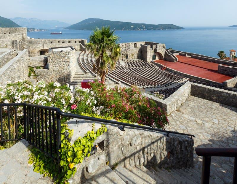 Château de jument de forte (Herceg Novi, Montenegro) images stock