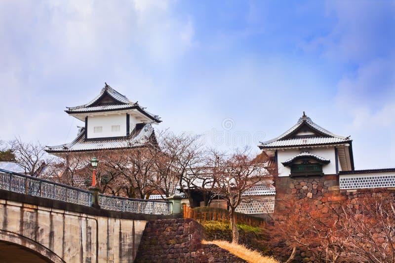 Château de Kanazawa photos libres de droits