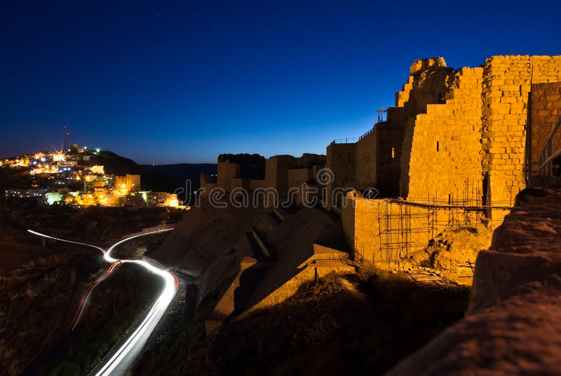 Château de Karak photos stock