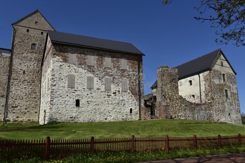 Château de Kastelholm, Aland, Finlande photographie stock