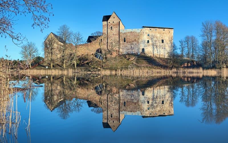 Château de Kastelholm aux îles d'Aland photographie stock libre de droits