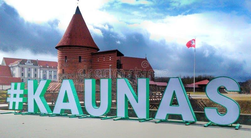 Château de Kaunas images stock