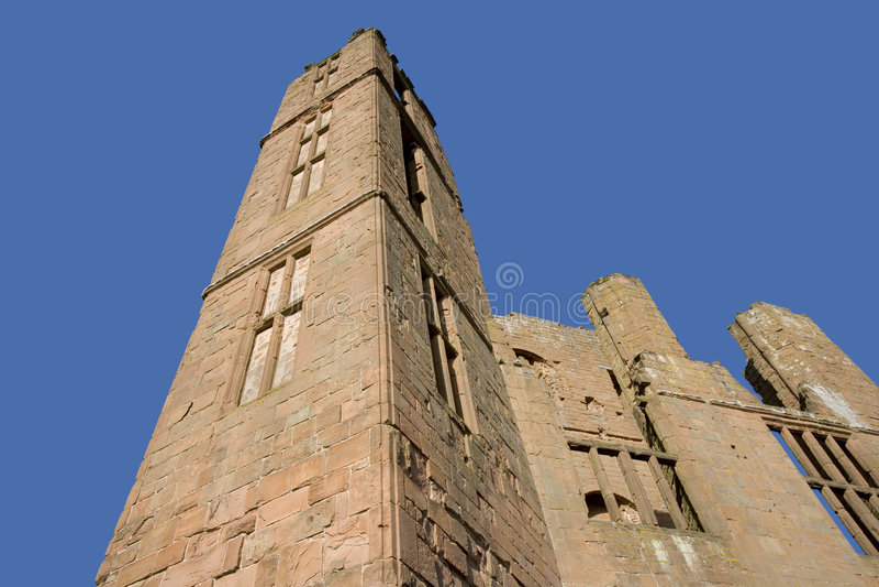Château de Kenilworth, le Warwickshire, les Midlands, Angleterre photos stock