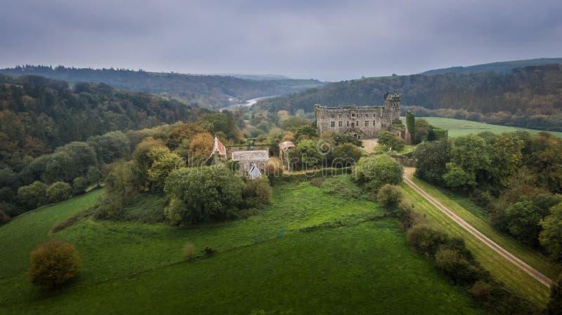 Château de Kilbrittain Liège du comté l'irlande images libres de droits