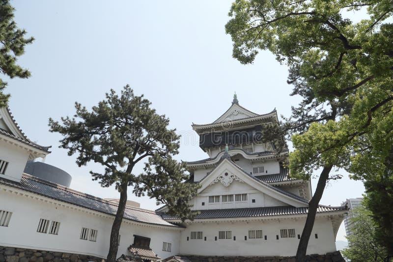 Château de Kokura photo stock