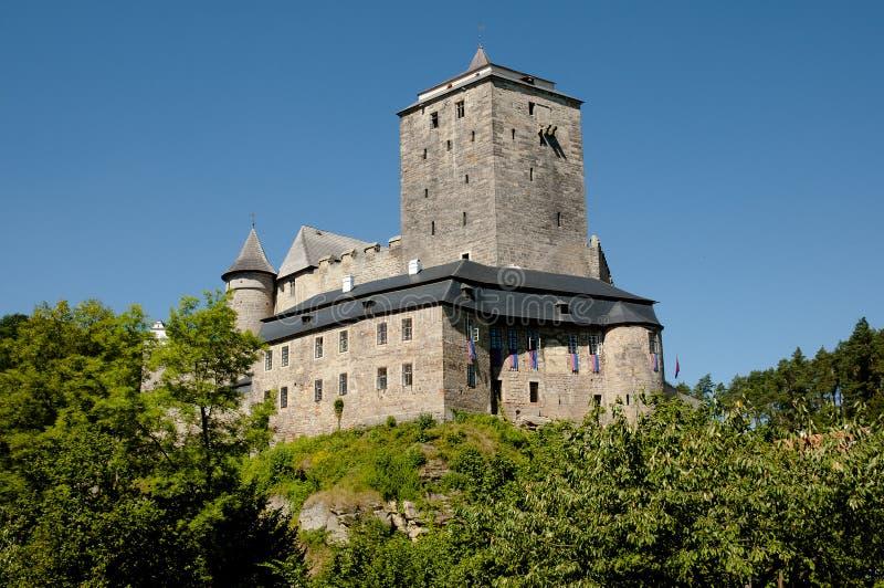 Château de Kost - République Tchèque photos stock