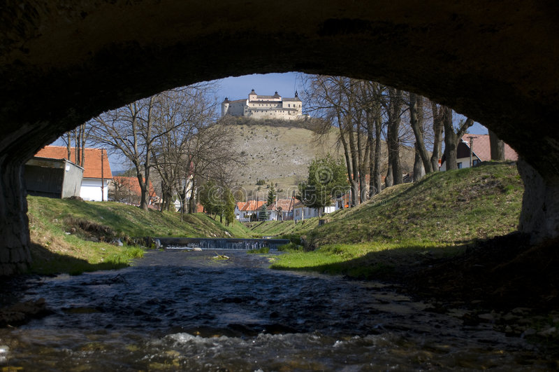 Château de Krasna Horka, Slovaquie images libres de droits