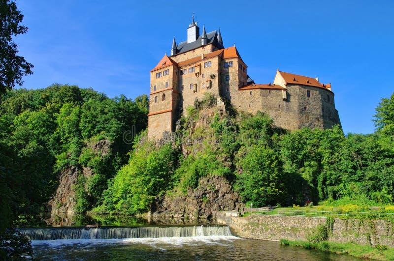 Château de Kriebstein photo libre de droits