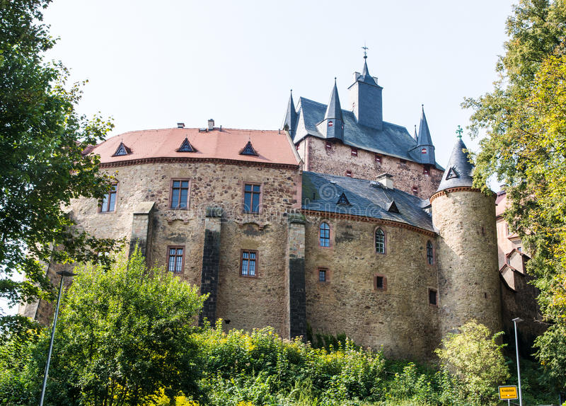 Château de Kriebstein images stock
