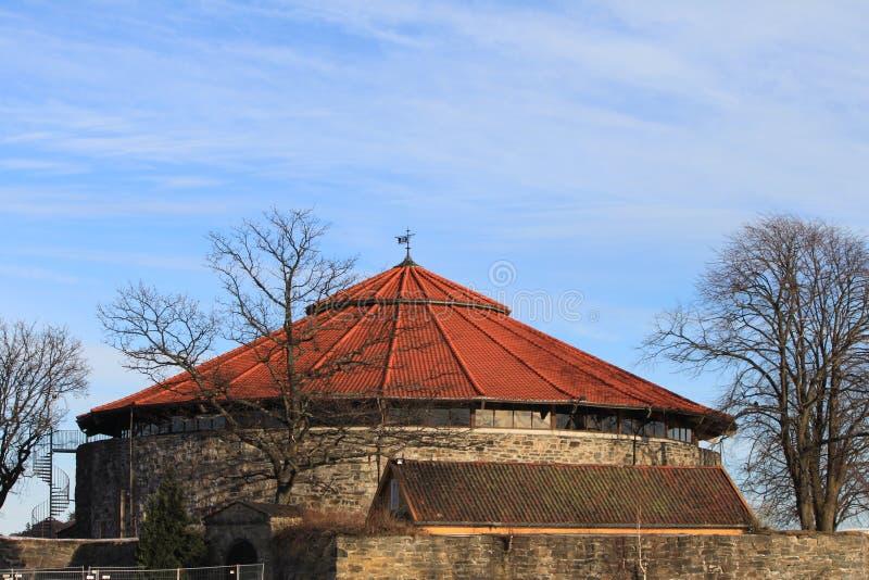 Château de Kristiansand photographie stock