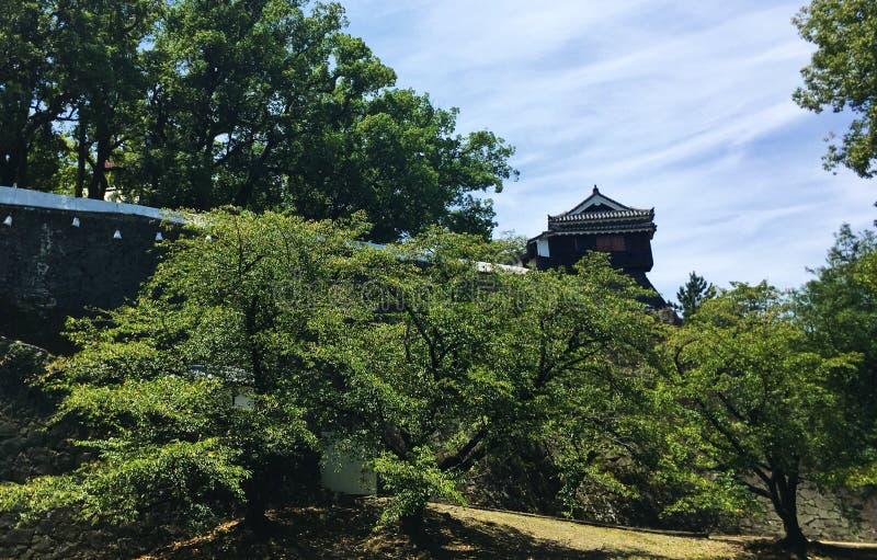 Château de Kyushu Japon Kumamoto photo stock