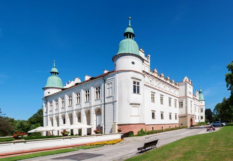 Château de la Renaissance dans Baranow, Pologne photo libre de droits