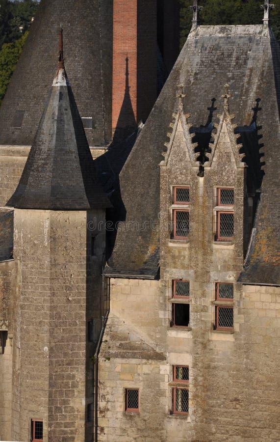 Château de Langeais image libre de droits