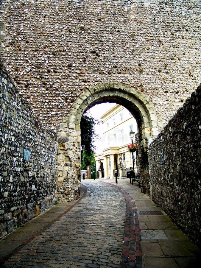 Château de Lewes, Brighton image stock
