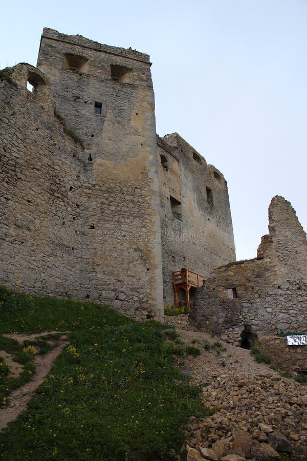 Château de Lietava, secteur d'ilina de ½ de Ã… Â photo stock