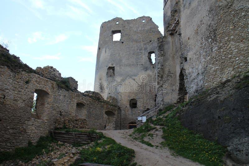Château de Lietava, secteur d'ilina de ½ du 'de ¬Â¦Ãƒâ€šÃ de 'de ÃÆ'ââ photos libres de droits